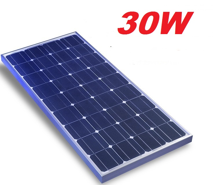 Fotovoltaický panel 30W poly